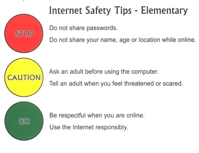 Kids' Rules for Online Safety