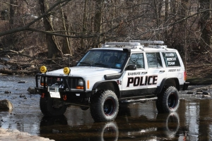 Flood Rescue Team Jeep