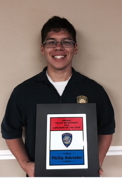 2015 Rahway Police Explorer of the Year – Phillip Schroeder